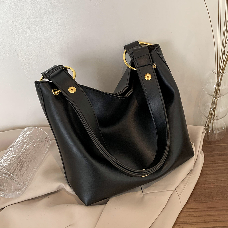 с доставкой Fashion Bucket Bag PU Leather Crossbody Bags Women 2021 Winter Shoulder Bag Branded Designer Handbags and Purses