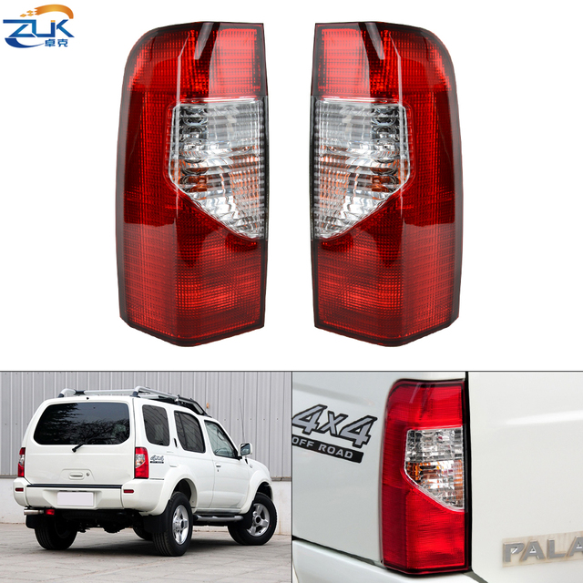 ZUK 2PCS Tail Light Lamp Taillight Taillamp For NISSAN XTERRA PALADIN N50 2005 2006 2007 2008 2009 2010 2011 2012 2013 2014 2015