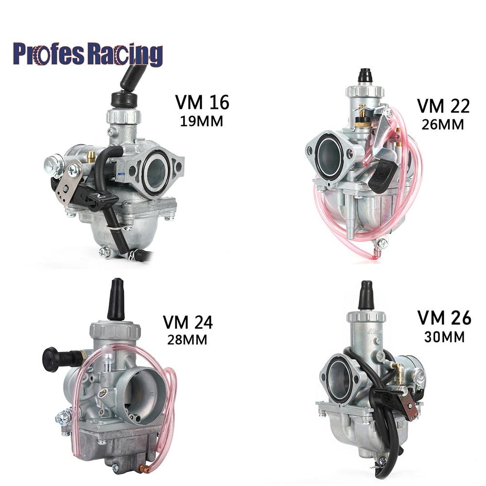 Mikuni Карбюратор VM16 22 мм VM22 26 мм VM24 28 мм VM26 30 мм карбюратор для 110cc до 250cc Pit Dirt Bike ATV Quad Motorcycle