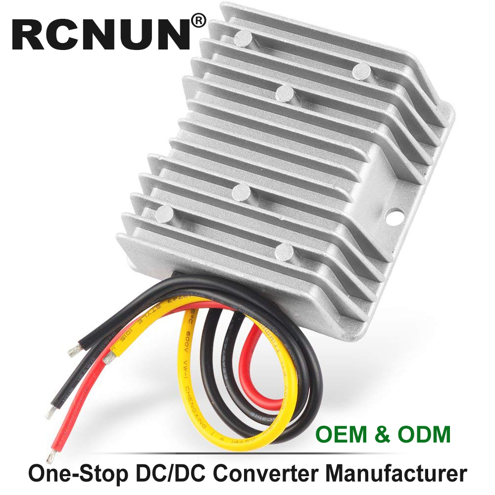 Image 5 - 36V 48V to 12V 13.8V 5A 10A 15A 20A 25A 30A Step Down DC DC Converter Golf Cart Voltage Reducer High Quality RCNUN CE RoHS-in Inverters & Converters from Home Improvement