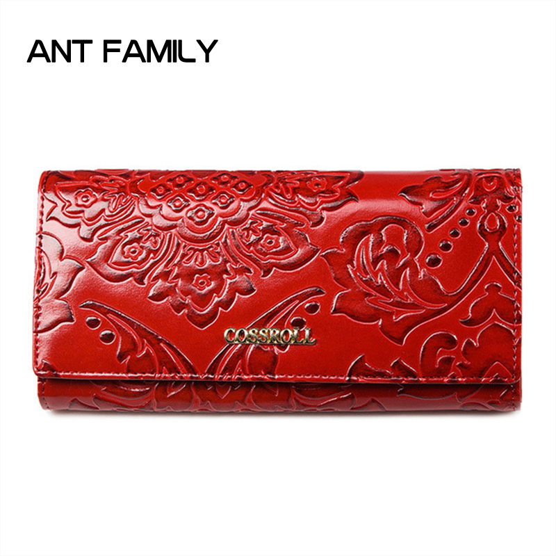 Genuine Leather Women Wallet Multifunction Womens Clutch Wallets Brand Purse Femme Portfolio Ladies Holder Phone Bag Card Holder