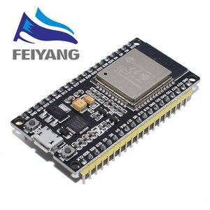 Image 1 - 10Pcs ESP 32 ESP32 ไร้สายWiFiบอร์ดพัฒนาบลูทูธ 2.4GHz CP2102 Micro USB Dual CoreโมดูลESP 32SคำESP8266