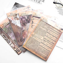 Background-Stickers Sulfuric-Acid-Paper Spotify Premium 8pieces Collage DIY of American-Style