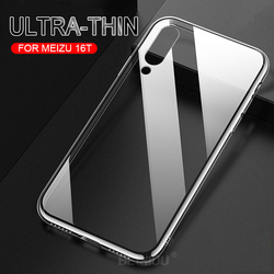 На Алиэкспресс купить стекло для смартфона case for meizu 16t 16s pro 16xs 16 tpu silicon clear transparent soft case for meizu note 9 back cover and tempered glass