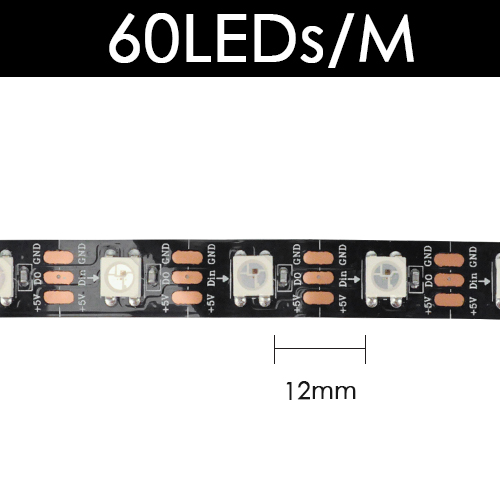 Black 60 LED
