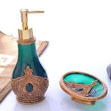 Portable 2Pcs/Set Soap Dispenser Hand Sanitizer Container Lotion Shampoo Bottles Desktop Decorative Bath Liquid Bottles Sets