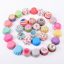 100pcs/set Muffin Liners Cupcake Paper Cups Cake Forms Baking Box Case Cake Mold Decorating Tool Wedding Birthday Party Supplies