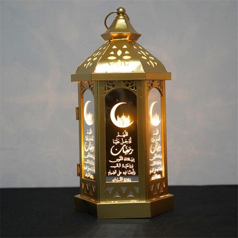 Led eid al-adha luz da noite muçulmano