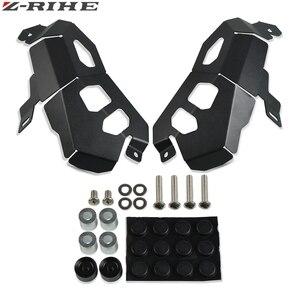 Image 4 - CNC 알루미늄 먼지 오토바이 배기 머플러 파이프 보호기 열 방패 커버 F650 GS F700 GS F800 GS R1200 GS