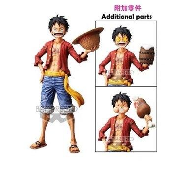 In Stock Banpresto One Piece Figure Grandsta Nero the Monkey D. Luffy Oversea PVC Action Figure model Figurals цена 2017
