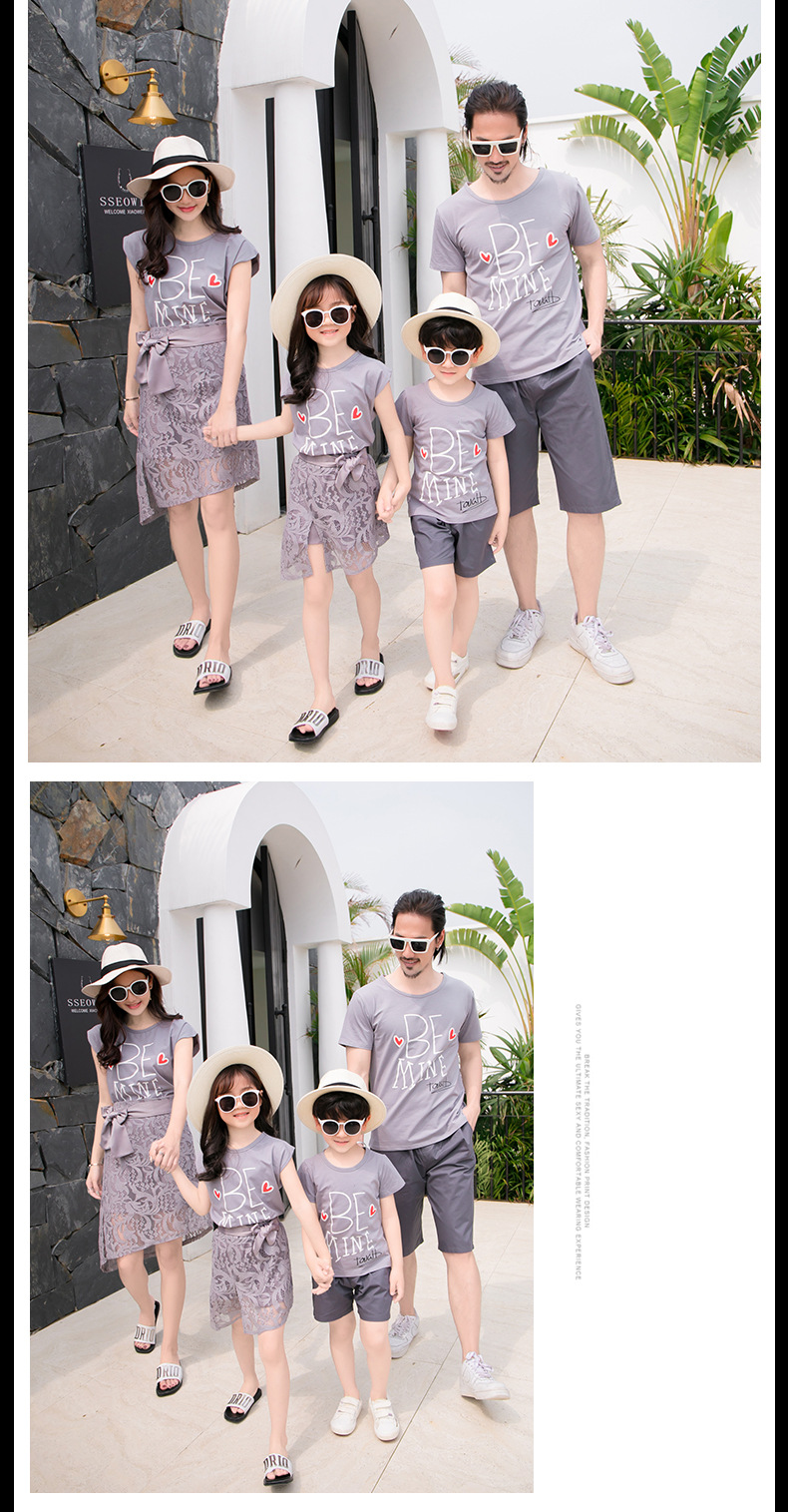 Family matching clothes | Beach dress Tshirt | Be Mine