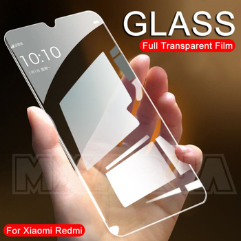 9H Protective Glass For Xiaomi Redmi 6 Pro 6A 7 7A 8 8A Go K20 Tempered Screen Protector Glass on the Redmi Note 6 7 8 Pro Film