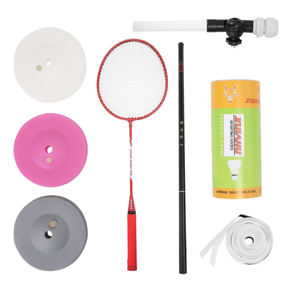 REGAIL  Badminton Training Tool Badminton Trainer Robot Professional Stretch Exercise Self-study Practice Machine Rebound