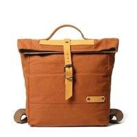 M323 New Vintage Classic Backpack Korean Female Student Canvas Shoulder Bag Male Leisure Outdoor Travel Computer Bag Daypacks