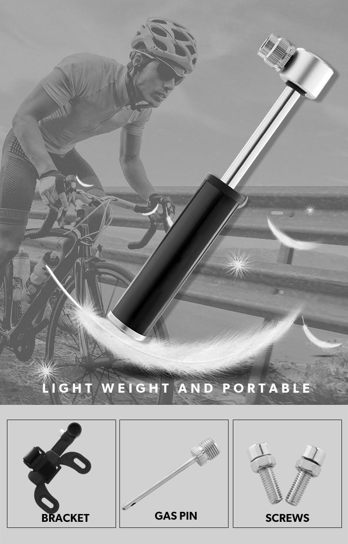 Купить велосипедный насос мини портативный светильник алюминиевый сплав