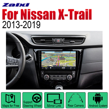 ZaiXi Auto Radio 2 Din Android Car Player For Nissan X-Trail Qashqai Dualis Rouge 2013~2019 GPS Navigation Wifi Map Multimedia