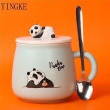 Coffee-Mug Ceramic Hand-Painted Student Milk-Cup Water-Cup Breakfast Creative Cartoon