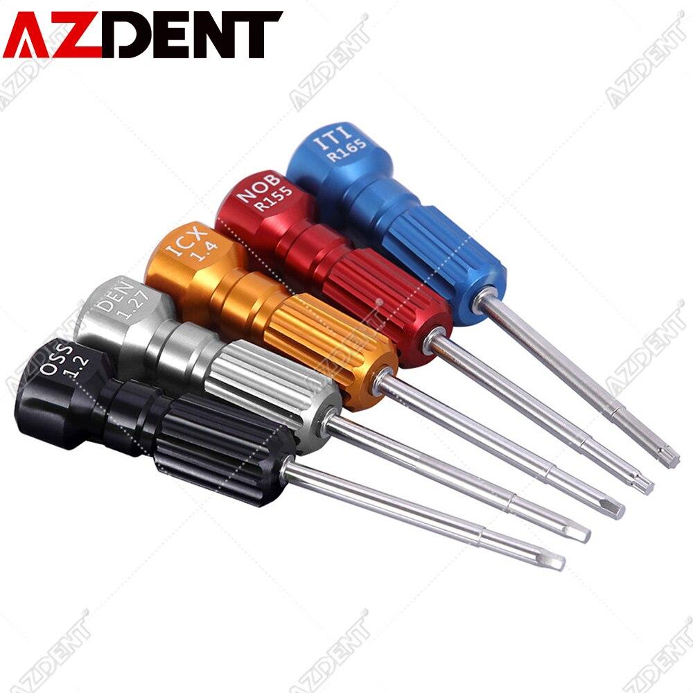 Azdent Dental Laboratory Mechanic Implant Screwdriver Micro Screw Driver For Implants Dental Orthodontic Matching Tool