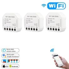 WiFi Smart Light Switch MS-104 Breaker Module Life Home Automation Modules 1/2 Way for Amazon Alexa Google IFTTT