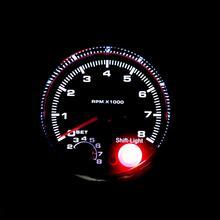 Автомобиль 95 мм тахометр, измеритель частоты вращения с сдвигом светильник 0-8000 об/мин 7 цветов