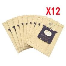12 قطعة كيس لجميع الغبار مكنسة كهربائية حقيبة S حقيبة ل فيليبس الكترولوكس FC8202 FC8204 FC9087 FC9088 HR8354 HR8360 HR8378 HR8426 HR8514