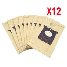 12Pcs Sacchetto di Polvere Sacchetto di Aspirapolvere S sacchetto per Philips Electrolux FC8202 FC8204 FC9087 FC9088 HR8354 HR8360 HR8378 HR8426 HR8514