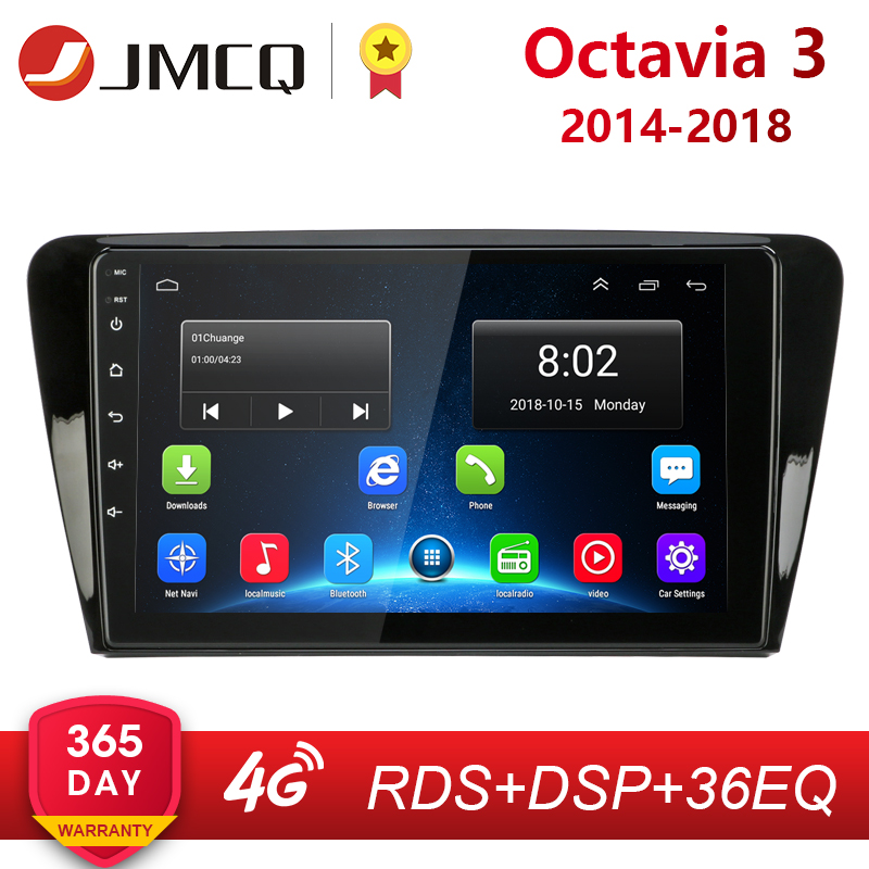"""10.1 """"2Din Android 8.1 pour Volkswagen SKODA Octavia 3 A7 2014-2018 autoradio multimédia lecteur vidéo Navigation RDS unité principale"""