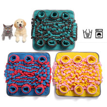 Dog Toys Increase IQ Snuffle Mat Slow Dispensing Feeder mat Pet Puzzle Puppy Training Games Feeding Food Intelligence Toy