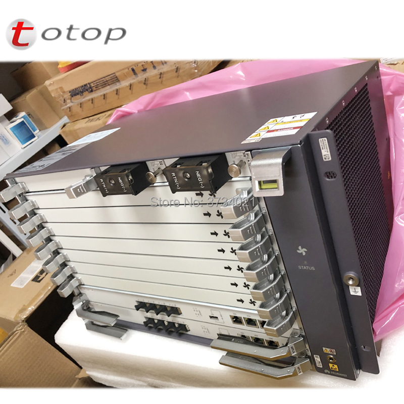 Image 5 - huawei MA5800 X7 GPON OLT with Chassis+2*MPLA+2**PILA+ 1*GPHF C+ and Accessories, 16 SFP Module C+ OLT-in Fiber Optic Equipments from Cellphones & Telecommunications