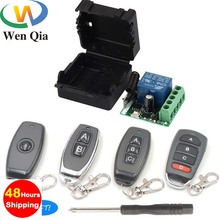 Wireless RF 433Mhz Universal DC12V 1CH Smart light switch Tr