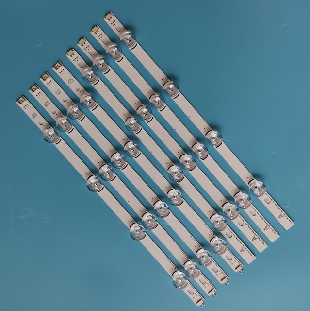 """8 ピース/セットアルミ新 LED ストリップ Drt3.0 39 """"Ab の LG テレビ 39LB582B 39lb585v 39LB629V 39LB5600 39LB561B"""