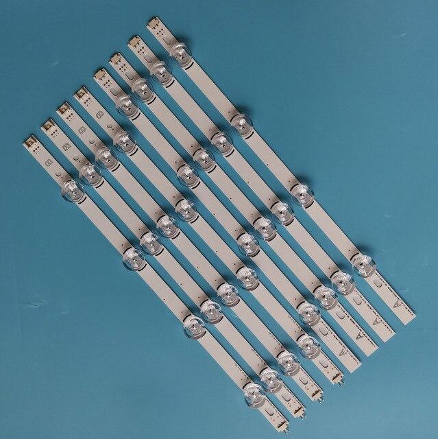 """8PCS/set Aluminum New LED Strip Drt3.0 39"""" AB For LG TV 39LB582B 39lb585v 39LB629V 39LB5600 39LB561B"""