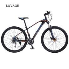 זאב של פאנג הר אופני אופניים 29 סנטימטרים 27 מהירות אלומיניום סגסוגת מסגרת כביש אופני אביב מזלג קדמי ואחורי מכאני אופניים