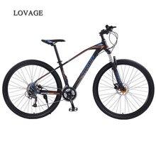 หมาป่า Fang จักรยานเสือภูเขาจักรยาน 29 นิ้ว 27 อลูมิเนียมความเร็วสูงอลูมิเนียมกรอบจักรยานฤดูใบไม้ผลิส้อมด้านหน้าและด้านหลัง mechanical จักรยาน