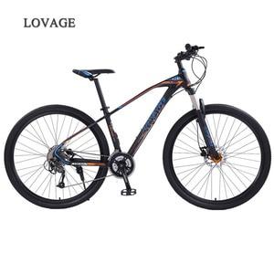 Image 1 - หมาป่า Fang จักรยานเสือภูเขาจักรยาน 29 นิ้ว 27 อลูมิเนียมความเร็วสูงอลูมิเนียมกรอบจักรยานฤดูใบไม้ผลิส้อมด้านหน้าและด้านหลัง mechanical จักรยาน