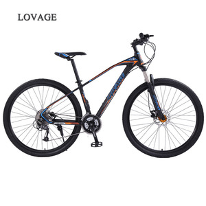 Image 1 - wolfs fang mountain bike bicycle 29inches 27speed Aluminum alloy frame  road bike Spring Fork Front and Rear Mechanical bicycle
