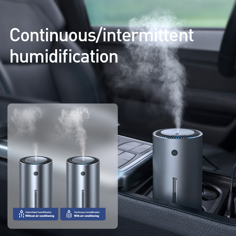 BASEUS Car Air Purifier with Essential Oil Aroma Diffuser and USB for Home and Office Air Purification