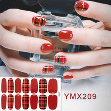 New 3D Nail Art Stickers French Style Decals Stripe Adhesive Manicure Tips DIY Decor Design