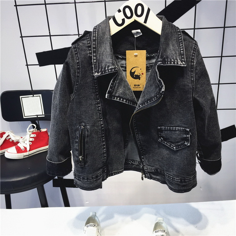 boys Denim Jacket For Boys Fashion Coats Children Clothing Autumn Baby Girls Clothes Outerwear Cartoon Jean Jackets Coat 1