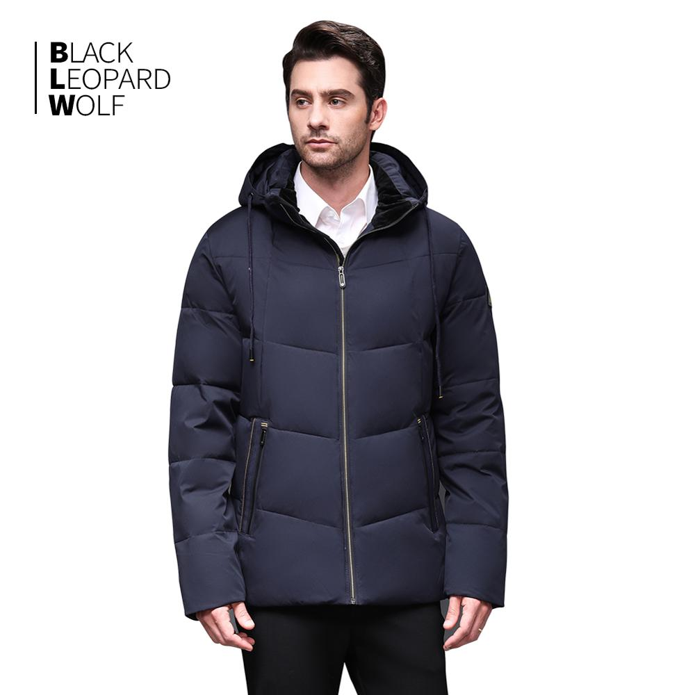 Blackleopardwolf 2019 Winter men down jacket  fashion coat thick parka men Alaska Windproof Detachable outwear Hot Sale BL-973