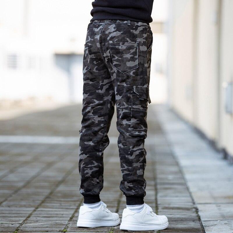 Little Boys Camo Long Pants Joggers Sport Sweatpants Kids Outdoor Camouflage Track Pants