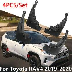 Błotniki z tworzywa sztucznego błotnik błotniki 4 sztuk dla Toyota RAV4 2019 2020 Błotniki Samochody i motocykle -