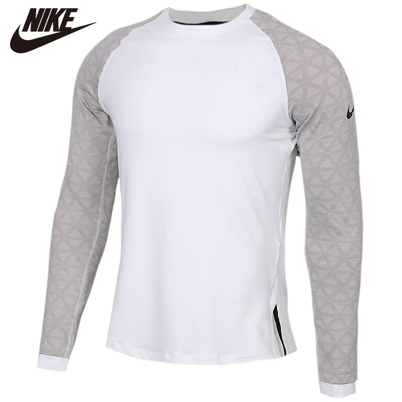 Original NIKE AS M NP haut LS utilitaire THRMA coton manches longues doux t-shirts confortable vêtements vente limitée