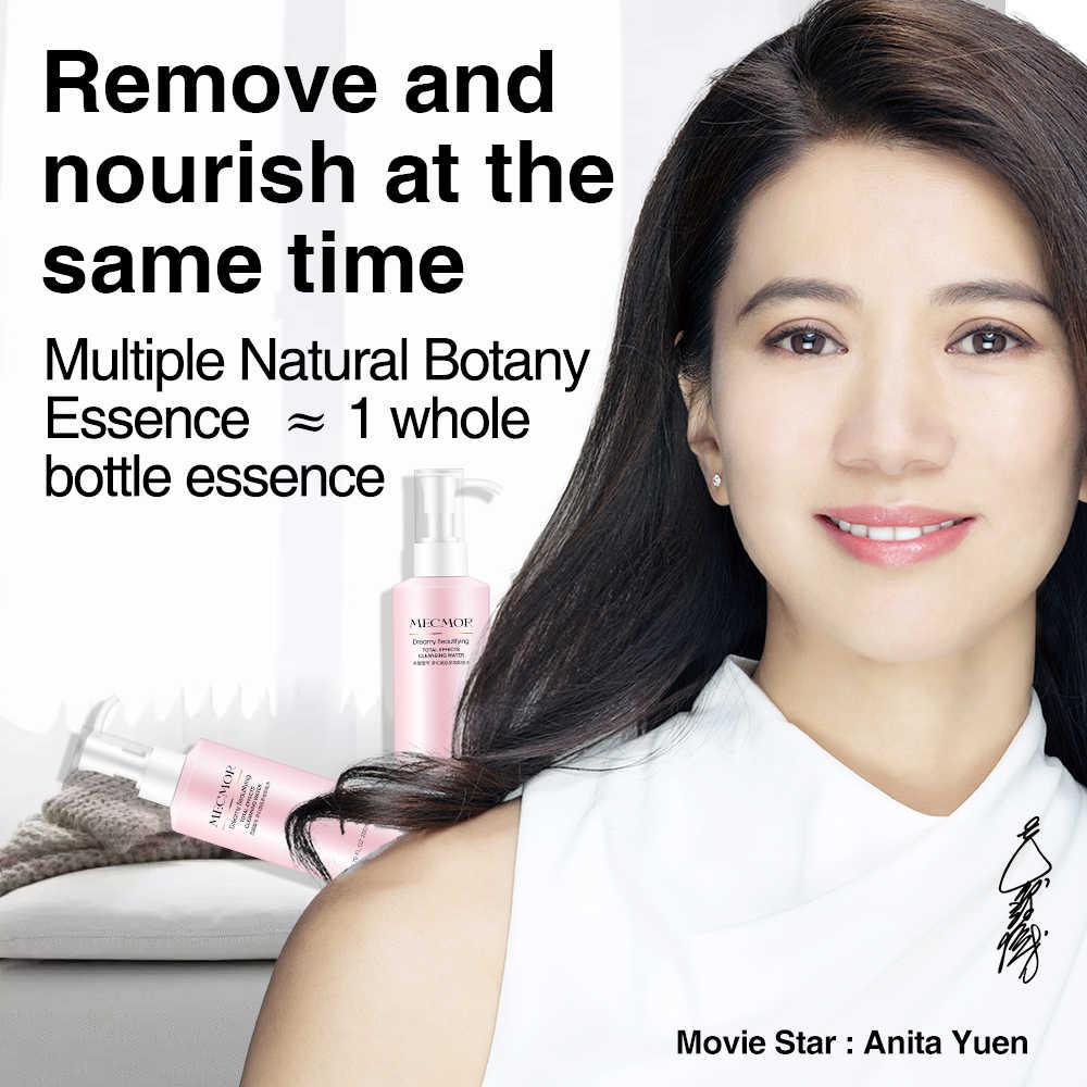 Dreamy Wajah Makeup Remover Pembersih Busa Pelembab 3in1 MECMOR Organik Alami Aditif Gratis Alkohol Gratis Pembersihan Air