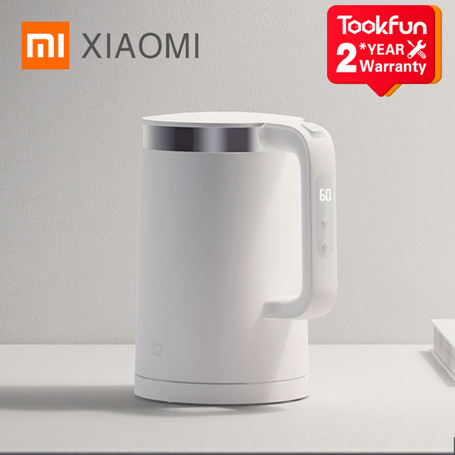 New XIAOMI MIJIA Electric Kettles Pro Kitchen Appliances Electric Water Kettle Teapot MIhome Smart Temperature Constant samovar 1