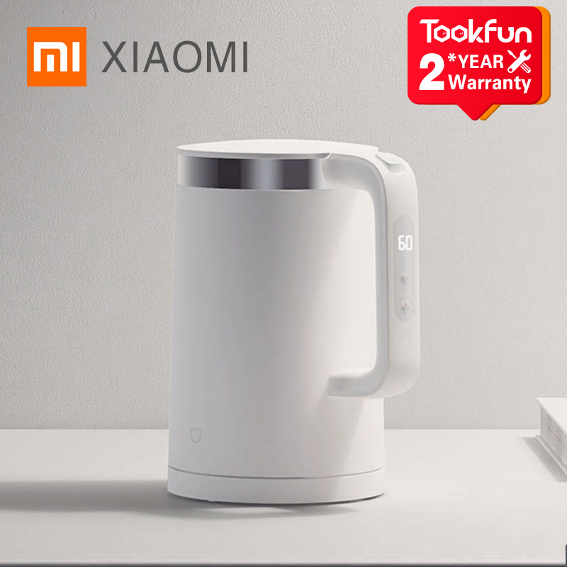 New XIAOMI MIJIA Electric Kettles Pro Kitchen Appliances Electric Water Kettle Teapot MIhome Smart Temperature Constant samovar