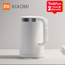 Nowe czajniki elektryczne XIAOMI MIJIA Pro urządzenia kuchenne czajnik elektryczny czajnik MIhome inteligentna temperatura stała samovar