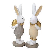 Żywica wielkanocny królik króliczek miniaturowa figurka wróżka ozdoba ogrodowa mikro element dekoracji krajobrazu domu biura na biurko rzemiosło dekoracji tanie tanio CN (pochodzenie) Nowoczesne Nieregularne Easter Bunny Other