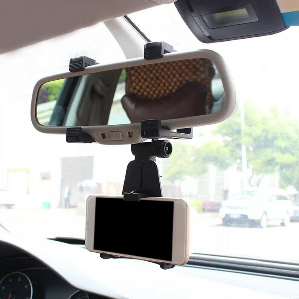 Car rearview mirror mobile phone bracket universal navigation Auto Accessories Mount Stand Holder Cradle For Cell Phone GPS