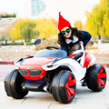 Four-wheel drive off-road children electric Four-wheeled swing toy charging car can sit people kid baby remote control stroller